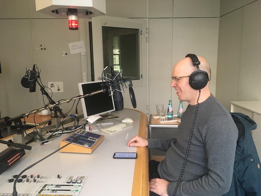 SR2 Kulturradio: Fragen an den Autor (Audio)