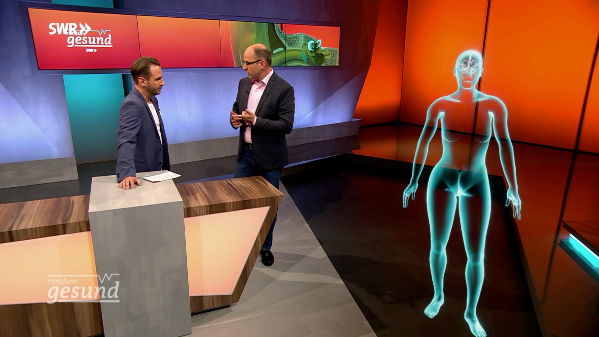 Zu Gast im TV bei rundum gesund (Video)